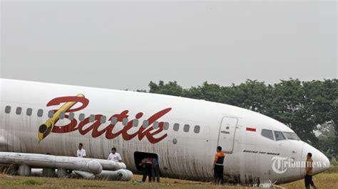 batik air jogja ini kondisi pesawat batik air yang tergelincir di bandara