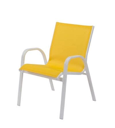 Yellow Patio Chairs Seabreeze Sling Furniture