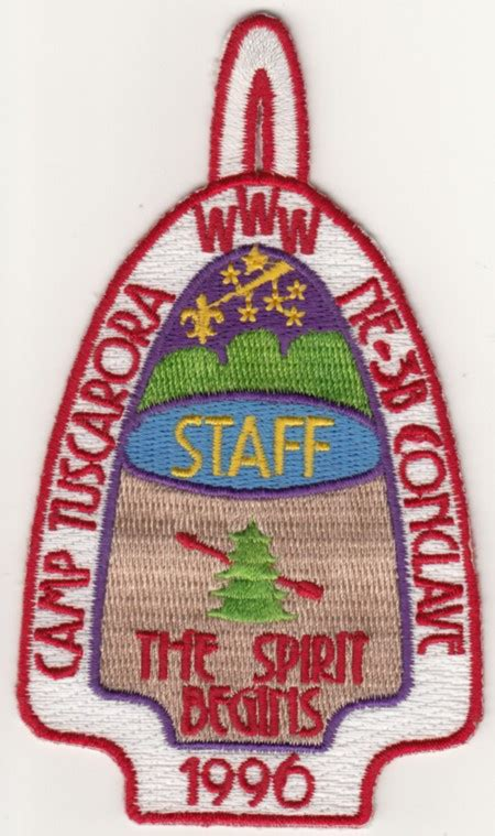 Section 3b by 1996 Section Ne 3b Conclave Staff Patch New York Oa Trader