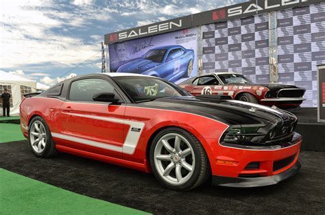 saleen mustang saleen revives heritage collection with 2014 george