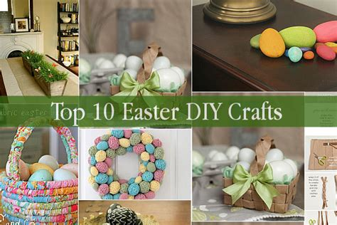 Easter Decorations To Make For The Home Top 10 Easter Diy Crafts