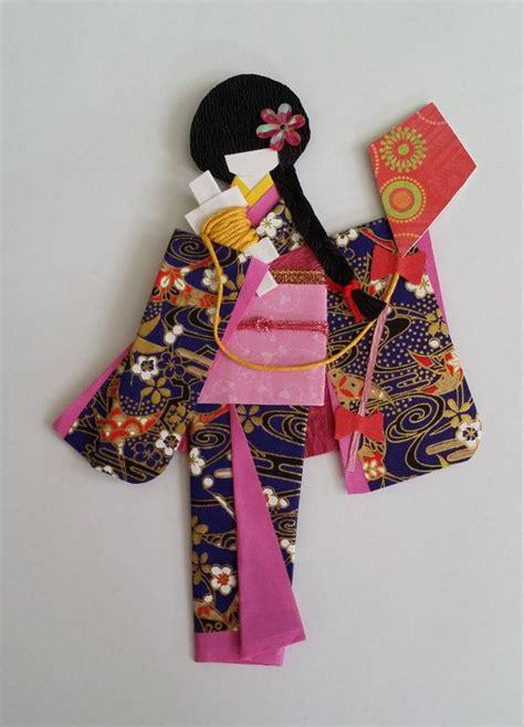 Folding Paper Dolls - 328 best origami kimono images on geishas