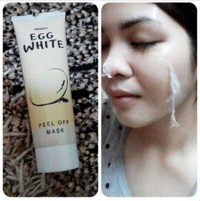 Dijual Egg White Mask Peel Masker Telur Telor T3009 masker telur thailand egg white peel mask tidak amis telor