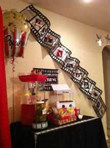 Movie Themed Home Decor by Movie Night Birthday Party Ideas