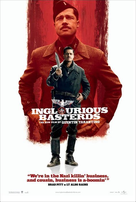 quentin tarantino film inglourious basterds 4 new inglourious basterds character posters movieweb