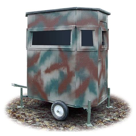 Mobile Blinds 4 x 6 portable ground blind deer