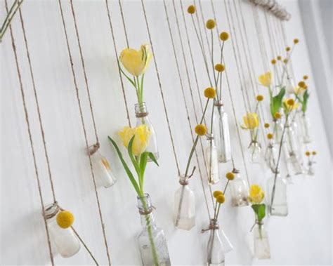 Hanging Vases Diy by Hanging Glass Bottles Hanging Plants Diy Hang Em