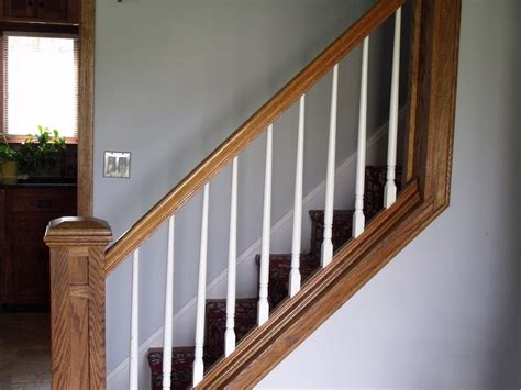 hardwood steps white spindles for more information on or