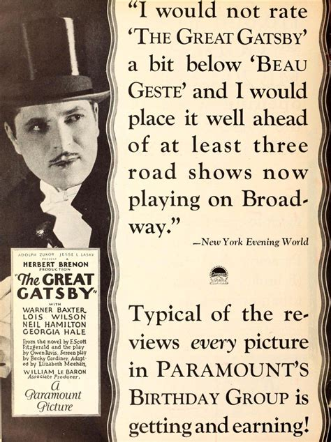 the great gatsby theme review the great gatsby 1926 herbert brenon synopsis