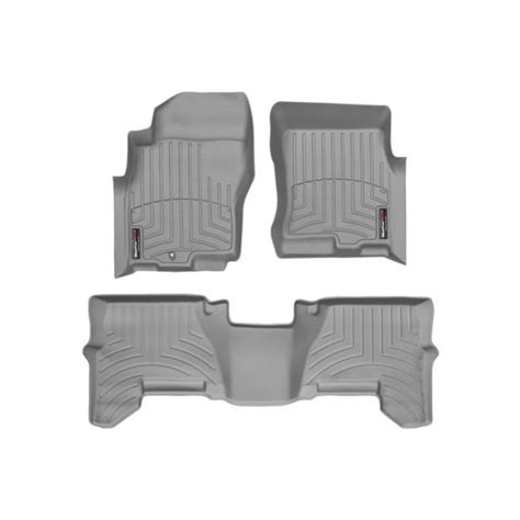 nissan pathfinder floor mats by weathertech front and rear one post grey 2005 2006 2007
