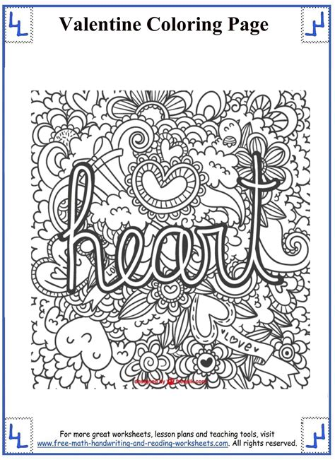 valentine math coloring page free coloring pages of coloring by number for fourth grade