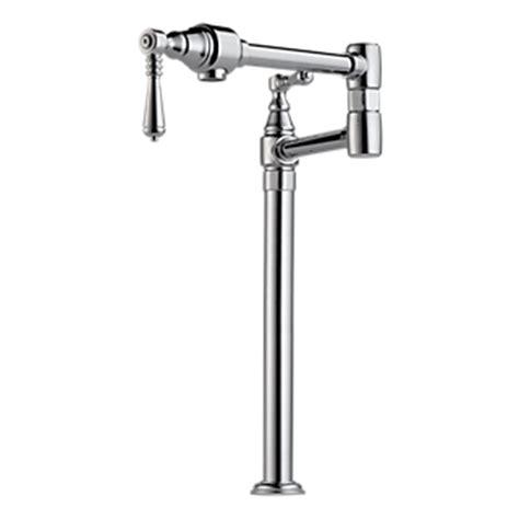 64025lf brizo single handle pull down kitchen faucet with 64025lf pc single handle pull down kitchen faucet with