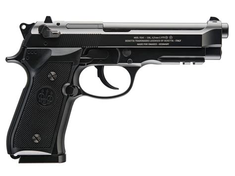 Korek Pistol Baretta Black beretta 92a1 auto blowback air pistol 177 cal bb black