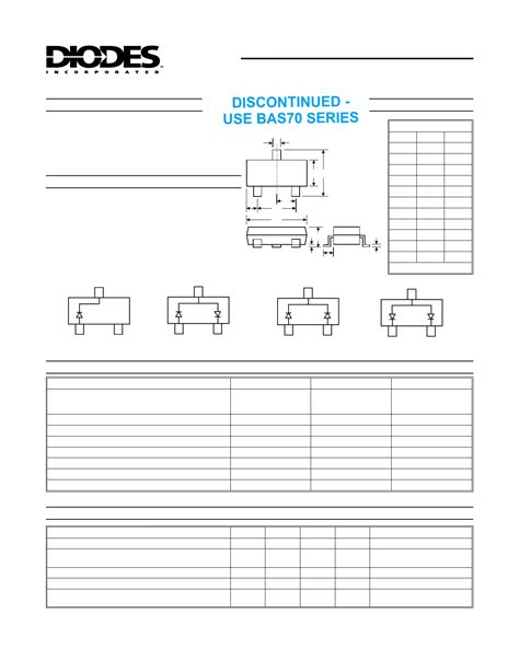 bypass diode array barrier diode array diodes incorporated 28 images bat43w 7 datasheet bat43w 7 pdf surface