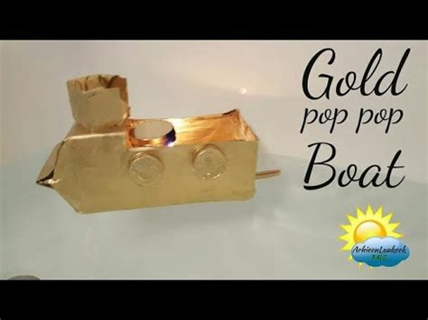 how to make a pop pop boat youtube how to make a simple pop pop boat youtube