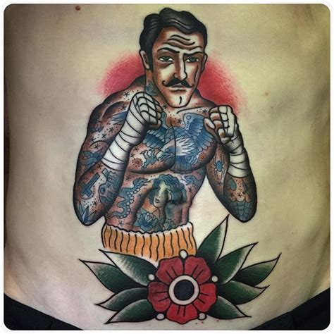 bare knuckle tattoo boxing boxer bare knuckle боксер
