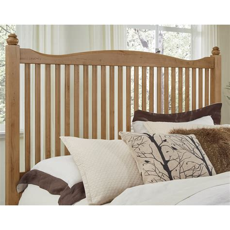 maple twin headboard vaughan bassett american maple 402 377 solid wood twin