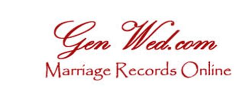 Free Marriage Records Usa Genealogy News Marriage Records