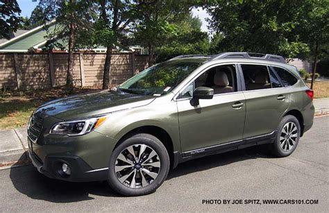 subaru wilderness green 2015 outback exterior photographs