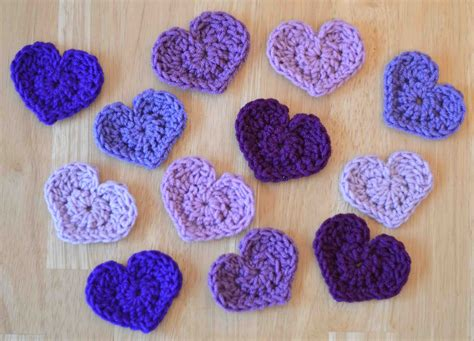 crochet heart pattern video the easiest heart crochet pattern ever