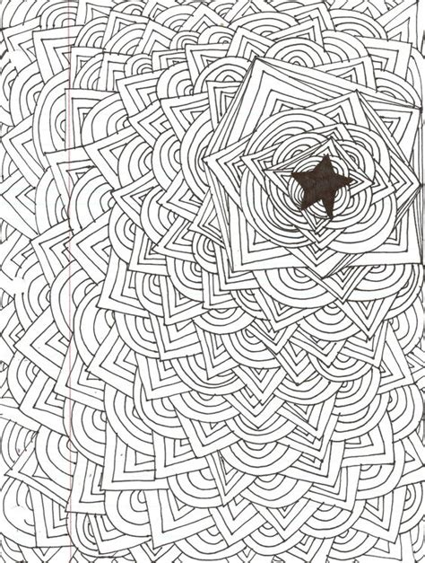 pattern in sketch 3 cool easy designs to draw abstract star design kiki