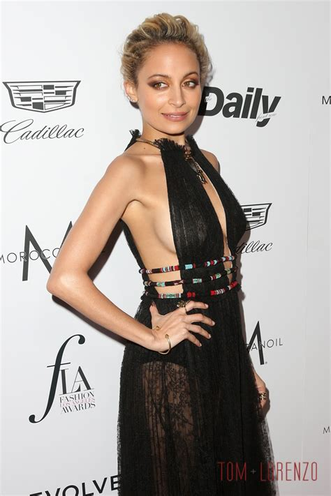 California Style House nicole richie in valentino at the daily front row s