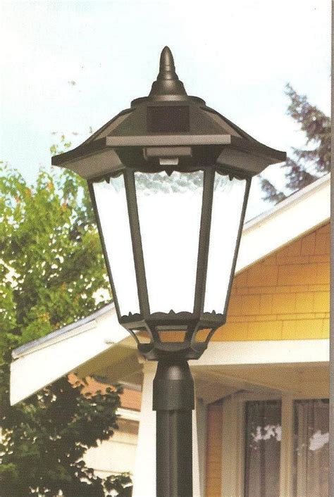 Solar Column Lights Outdoor 2 Solar 4 Quot Post Lights L Post Solar Lights Outdoor