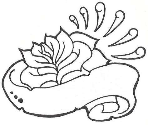 rose and banner tattoo designs 13 banner designs ideas and stencils