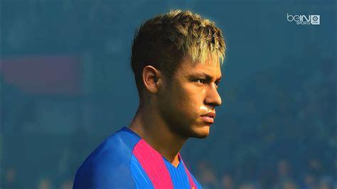 neymar new hair cuttphotos download in neymar face with flashback hair pes 2017