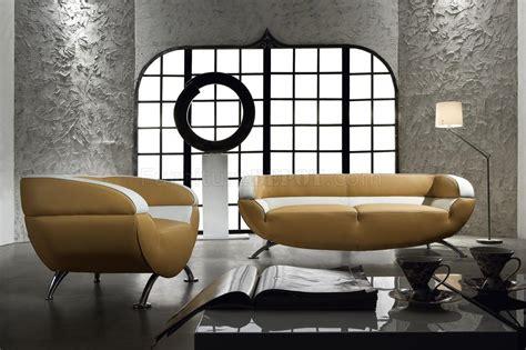 tone leather  piece living room set   light