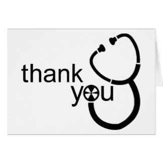 printable thank you cards for doctors thank you doctor cards zazzle