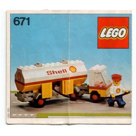 lego shell lego shell petrol tanker set 671 brick owl