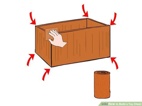 build  toy chest  steps  pictures wikihow