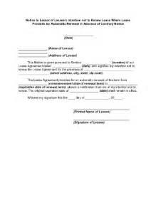 renew lease letter docoments ojazlink