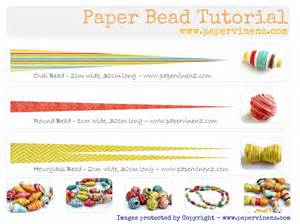 Beading Templates by Paper Bead Tutorial Summer Papervine