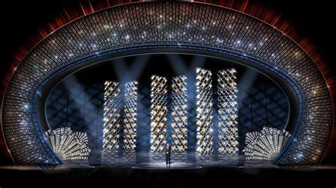 Derek McLane's art deco inspired stage for the Oscars 2017   Architectural Design   Interior