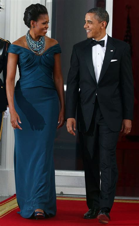 Political Fashion Obamas Dress by Obama S Style Evolution 30 Most Memorable Gowns