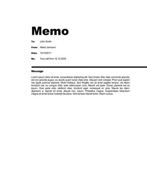 free memo template 17 best ideas about business memo on summer