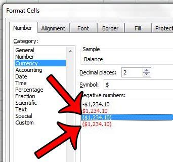 format excel brackets negative how to put parentheses around negative numbers in excel