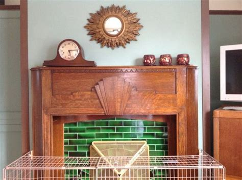 1940s Fireplace by The Guard That Spoils The 1940s Room Ensures The