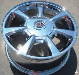Cadillac Cts Chrome Wheels Set Of 4 New 17 034 Factory Gm Cadillac Cts Chrome Wheels