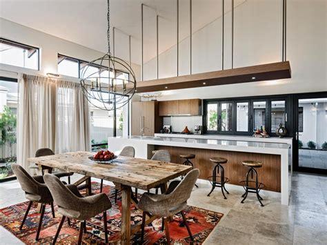 open concept kitchens living spaces flow house  decor