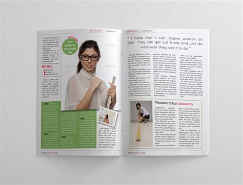 magazine templates for pages 24 pages business magazine template on behance