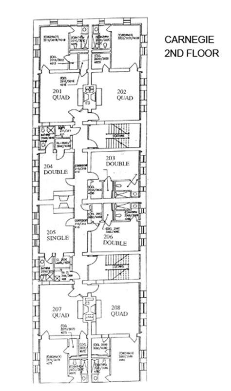 carnegie hall floor plan housing and floor plans carnegie hamilton college