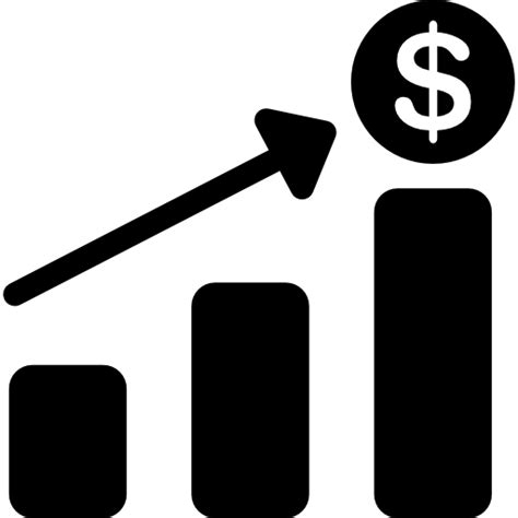 increased revenue free business icons