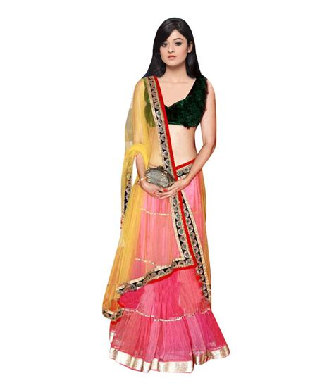 17 best images about indian ethnic clothes online on nandani ethnic wear pink net border work semi stitched