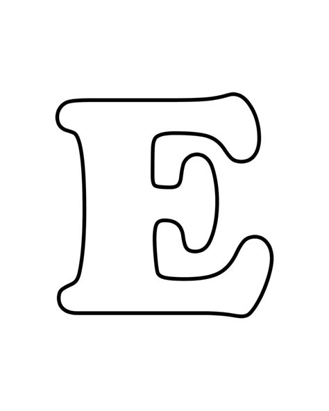 printable alphabet letter e letter e free printable coloring pages applique