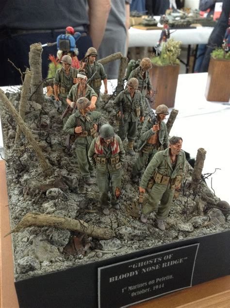 Sarung Army New Model 1 quot ghosts of bloody nose ridge quot 1st marine division on peleliu diorama ww2