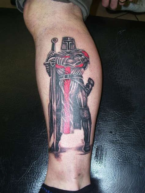 st george cross tattoo st george