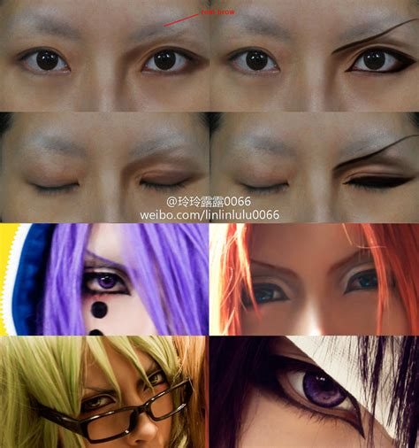 tutorial makeup cosplay male boy character s eyes makeup tutorial by 0066 on deviantart
